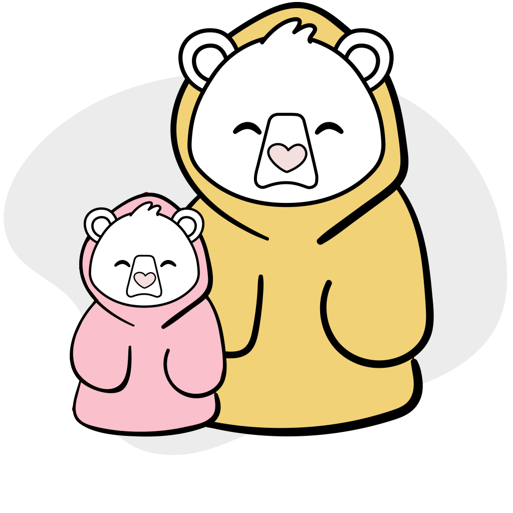 Snuggie adult and child